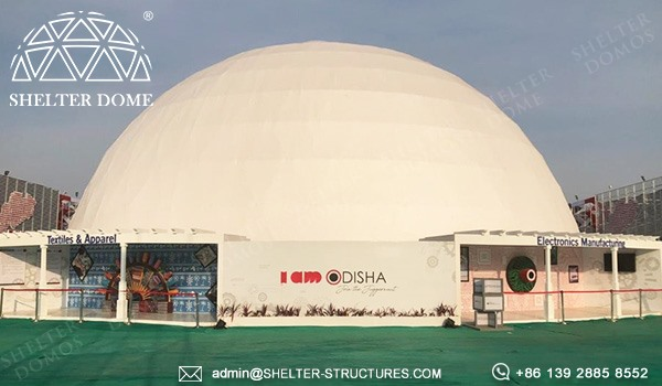 Dome Projection-Indian-30-meter-diameter Illumination Dome